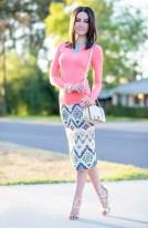 Tiffany Tank | Coral Sequins