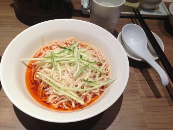 紅油燃麵/ Spicy Noodle