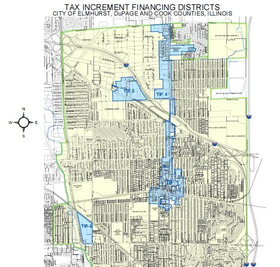 Elmhurst_TIFs-map