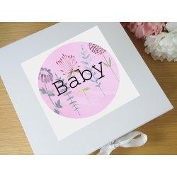 Small Crop Of Baby Keepsake Box