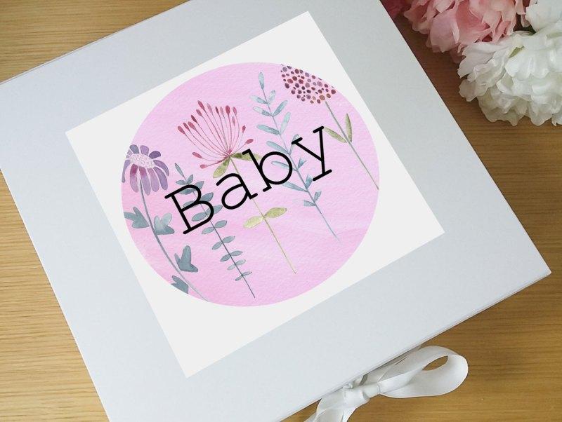 Large Of Baby Keepsake Box