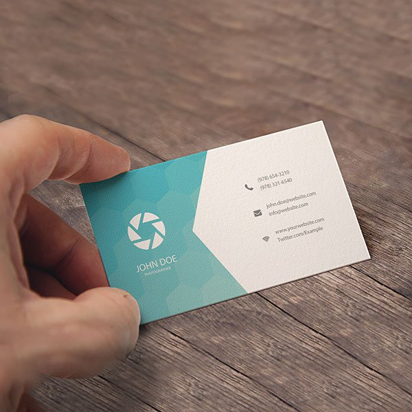 Economical Business Cards with UV Glossy Shine.