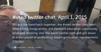#vted twitter chat recap