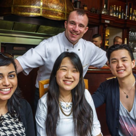 Head Chef/Owner of Comme Chez Soi