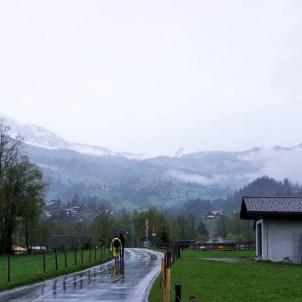 Walking through Grindelwald