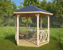 Small Gazebo Lotte S 6m² / 3x3