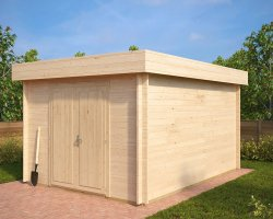 Large Garden Storage Shed Jacob A 12m² / 40mm / 4,4 x 3,2 m