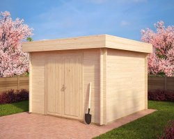 10x10 Shed Lucas A 8,5m² / 40mm / 3,2 x 3,2 m