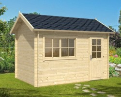 Garden Log Cabin Lena S 8m² / 28mm / 3,8 x 2,5 m