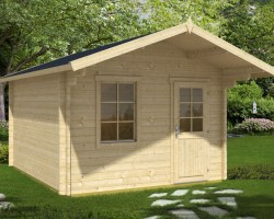Garden Log Cabin Oslo XL 12,5m² / 50mm / 3,5 x 4,1 m