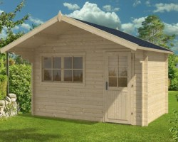 Log Cabin Rita S 8m² / 28mm / 3,8 x 2,5 m