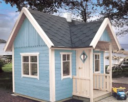 Wooden Garden Playhouse Mario