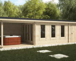 Screen Shot 2019 09 06 at 4.42.50 PM - Garden Room With Veranda And Shed Super Eva E 18m² / 44mm / 9 X 3 M