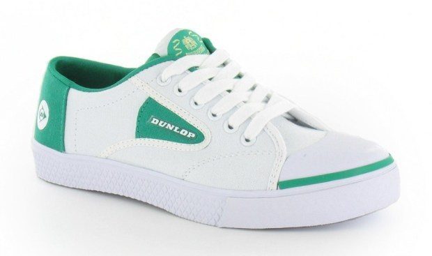 Dunlop Green Flash Trainers