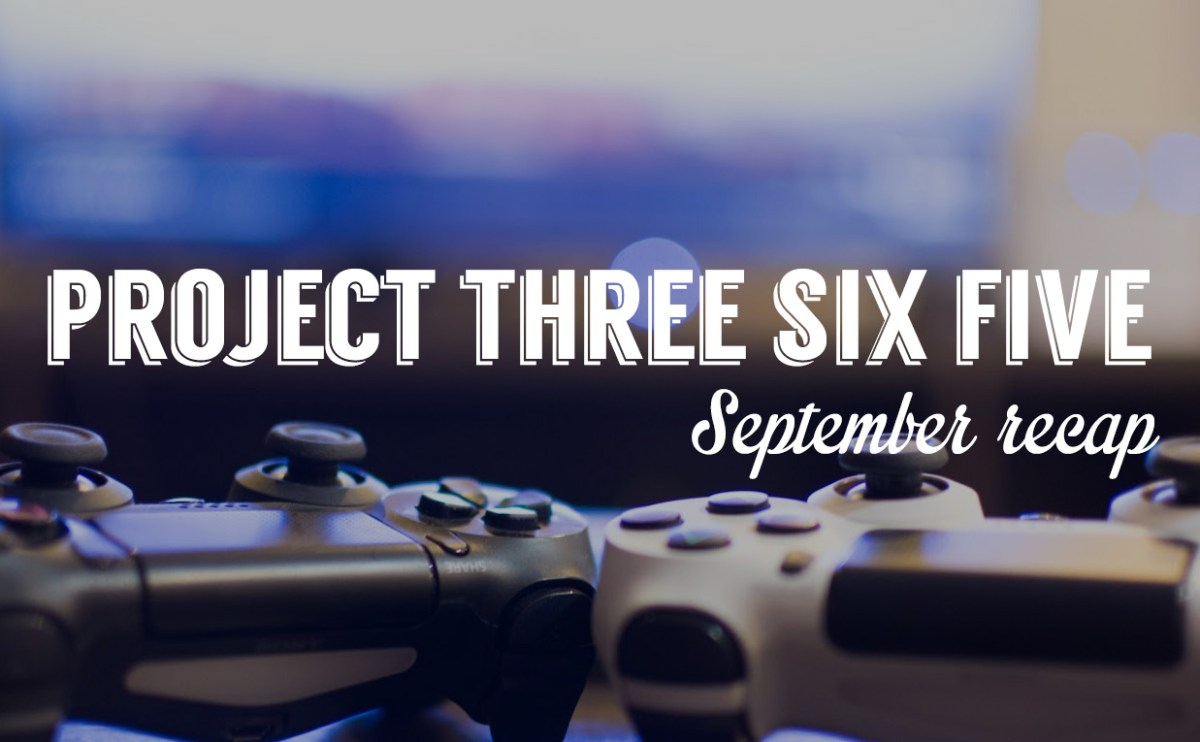 Project 365: September 2015 recap