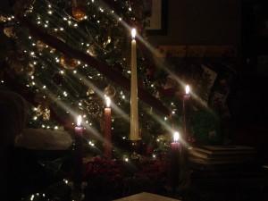 Advent Wreath Christmas Eve 2006