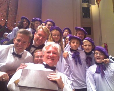 choir concert with children