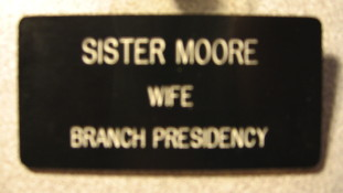Wife of President Badge