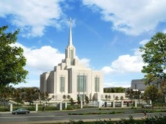 The New Ogden Temple, <small>© 2010, Intellectual Reserve, Inc.</small>