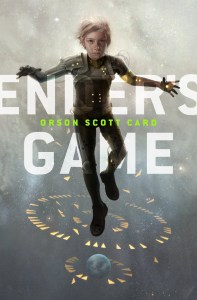 The cover art for the YA version of Ender's Game.