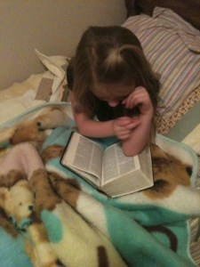Geneva feasting on the word.