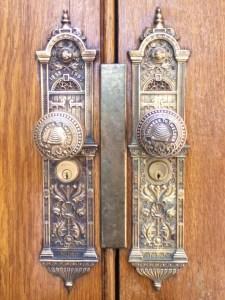 Salt Lake Temple doorknobs