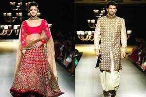 An ode to vintage glamour by Manish Malhotra