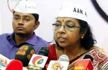 Now, only woman in AAP national executive quits