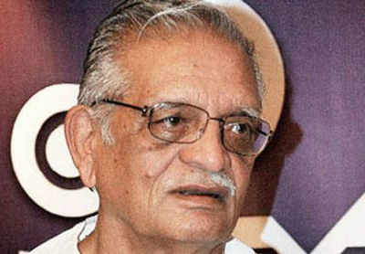 Poet, lyricist and filmmaker Gulzar.