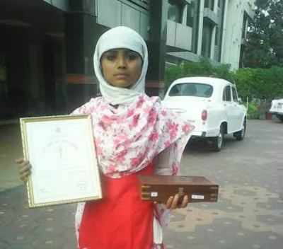 Nazia said her actions were spontaneous and she didn't hesitate even for a second to think about her won safety.