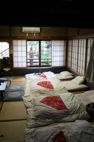 Japan - Traditional Tokyo Hostel (2)