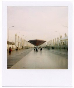 World Expo - China Pavilion Polaroid