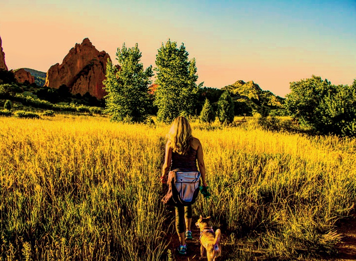 Hiking at Garden of the Gods in Colorado Springs