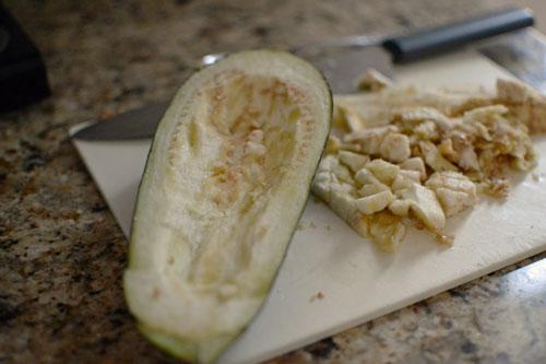 Eggplant-waiting-to-be-stuf