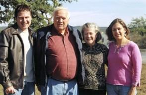 Tim Henderson & family 2004