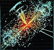 LHC looking for the Higgs boson