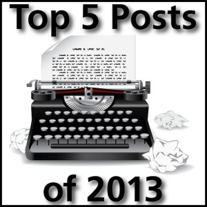 Top Blog Posts of 2013-01