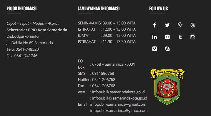 Info Publik Samarinda