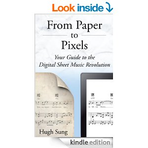 From Pixels to Paper | eBook review – All about music reading software