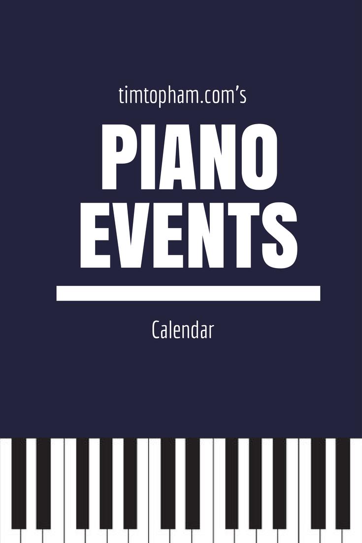 Piano Calendar
