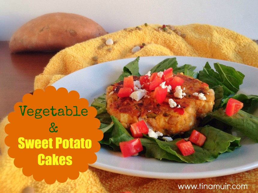 Vegetable and Sweet Potato Cakes