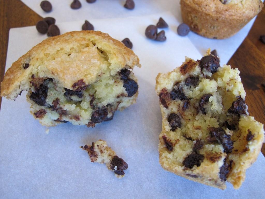 High Domed Chocolate Chip Muffins – Tina's Chic Corner