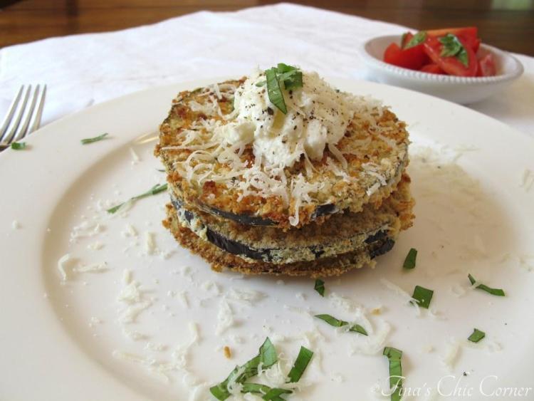 04Crispy Baked Eggplant & Ricotta Stacks