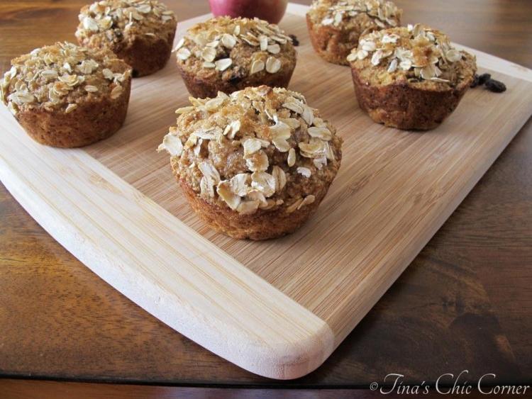 05Apple Raisin Whole Wheat Muffins