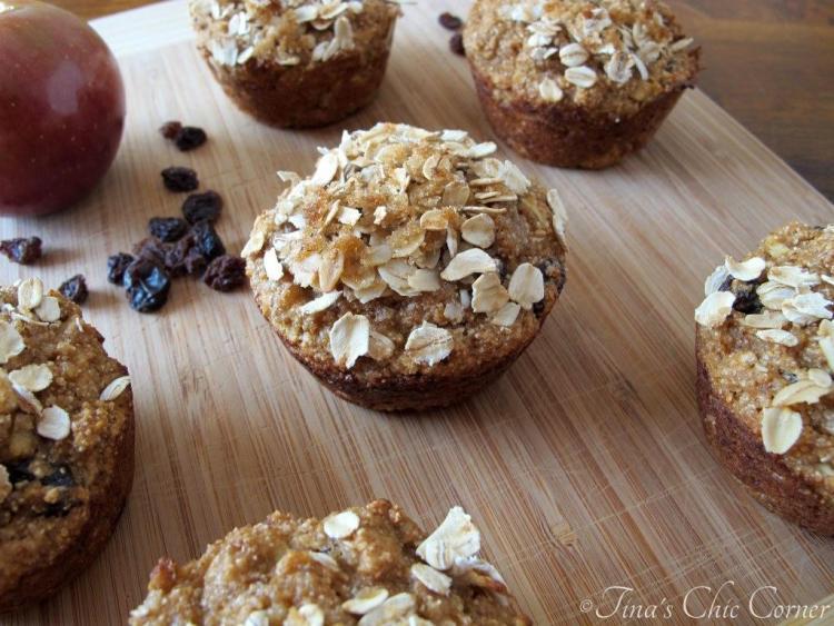 08Apple Raisin Whole Wheat Muffins