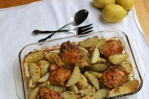 08Greek Roasted Chicken & Potatoes