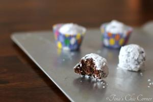 Peanut Butter Chocolate Poppers