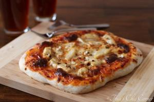 02Garlic Chicken Pizza