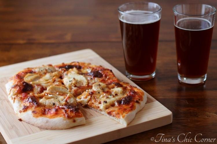 05Garlic Chicken Pizza