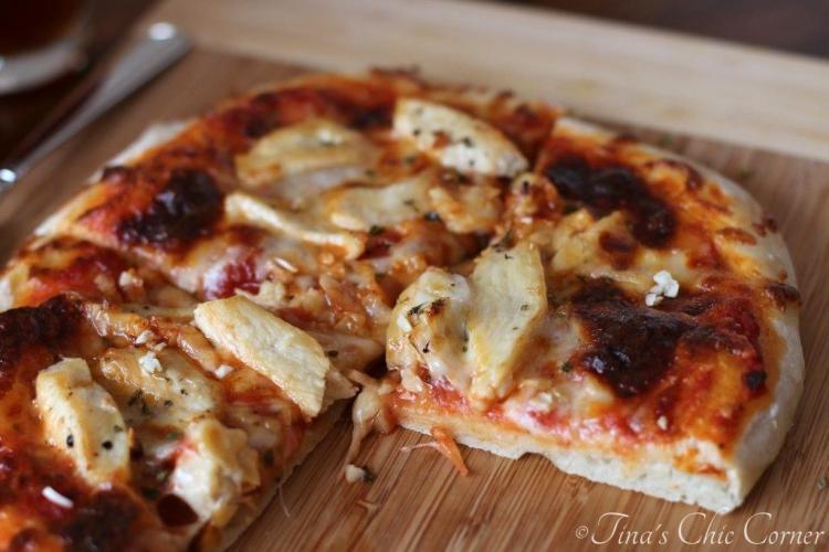 07Garlic Chicken Pizza